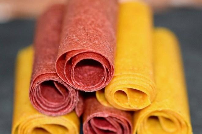 Tipps & Infos: Fruchtleder - eine gesunde Nascherei - Erdbeer- und Mango-Chili-Fruchtleder