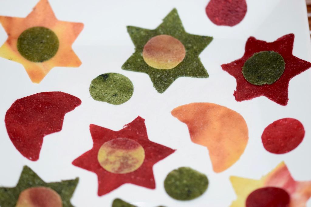 Tipps & Infos: Fruchtleder - eine gesunde Nascherei: Fruchtleder - verschiedene Farben und Formen