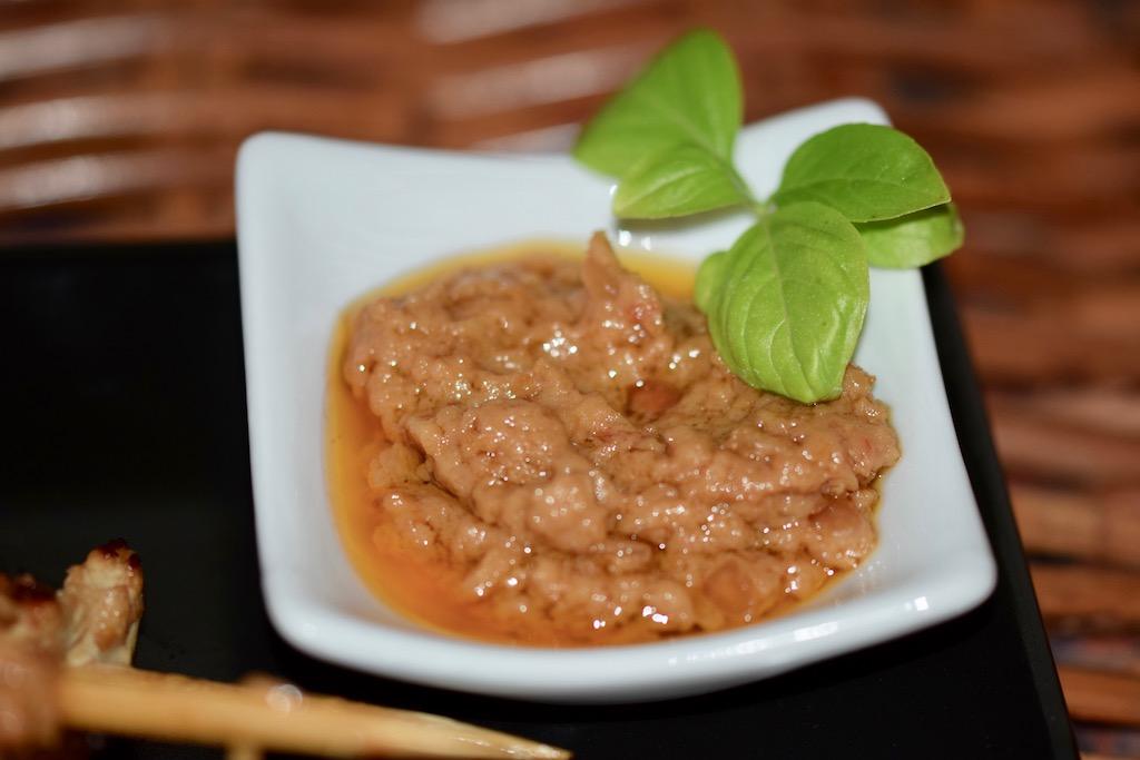 Rezepte: Kleinigkeiten: Saté-Spieße - Erdnuss-Sauce