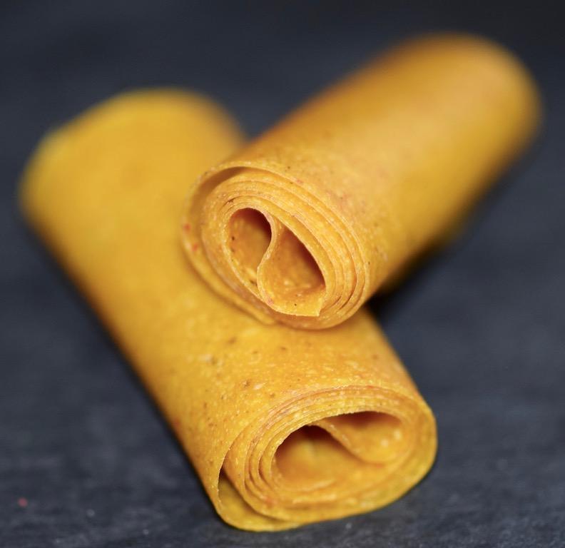 Rezepte: Süßes: Mango-Chili-Fruchtleder - 2 Rollen