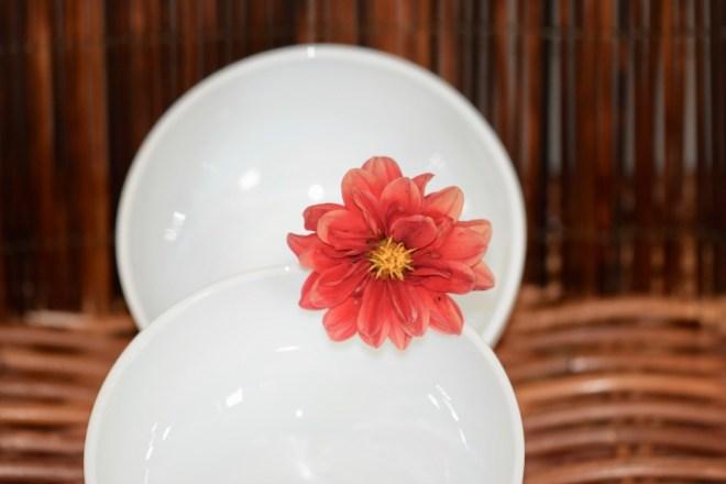 Tipps & Infos: Urlaubsküche aus der Mikrowelle - 14 Tipps für das Kochen mit der Mikrowelle: Mikrowellengeschirr - zwei weiße Schüsseln