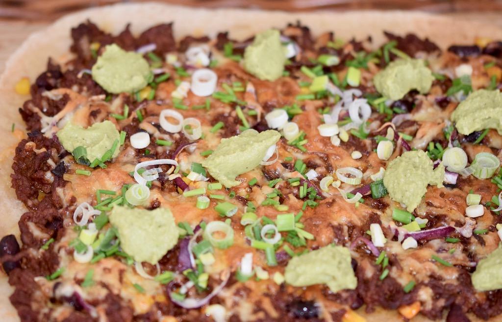 Rezepte: Hauptgerichte: Pizza Messicana