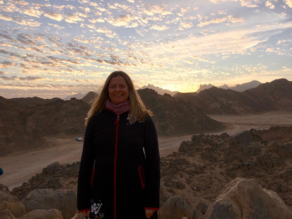 Sunshine Blogger Award - Sonnenuntergang - Wüste bei Hurghada - Ägypten