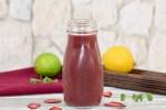 Blaubeer Rotkohl Smoothie - Smoothie - Rezept - gesund - abnehmen - roter Smoothie - Frühstück - mit Banane - selber machen - einfach - Frucht - Obst - Beeren