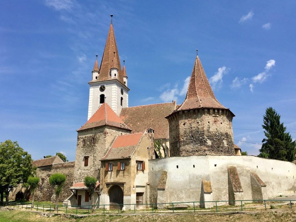 Kirchenburg bei Sibiu in Transilvanien - - Rumänien