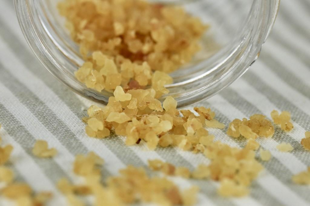 Wasserkefirkristalle getrocknet