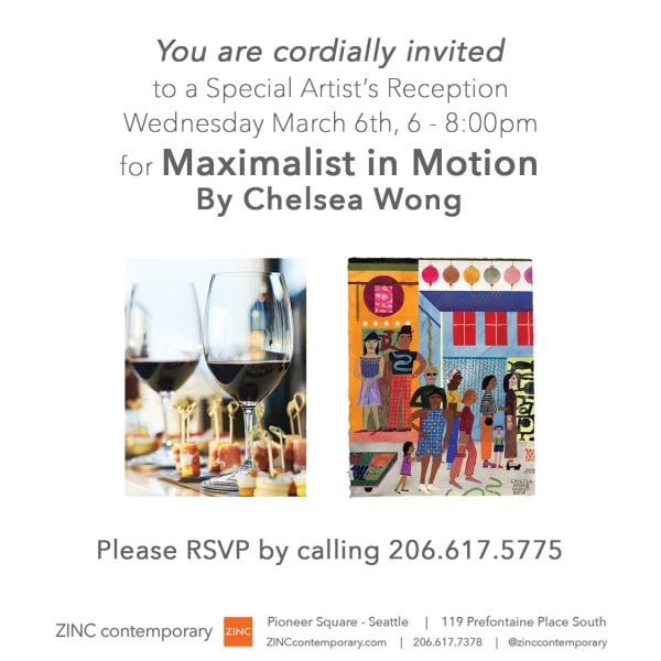 Artist Reception | Maximalist In Motion | Chelsea Wong