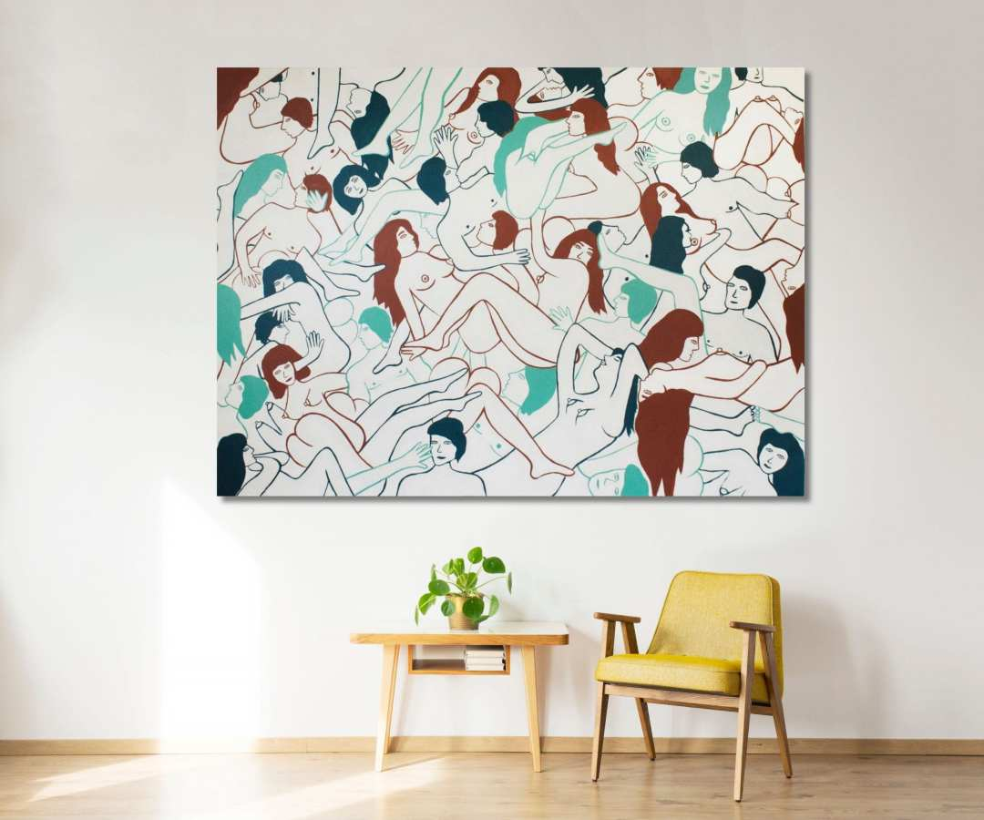 gina occhiogrosso ZINC contemporary artist mind over matter in a room