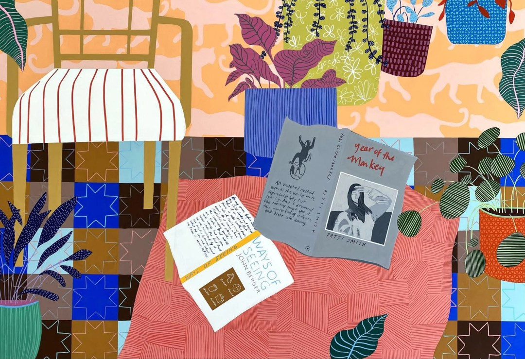 gouache and flashe on panel by zinc contemporary artist mary finlayson
