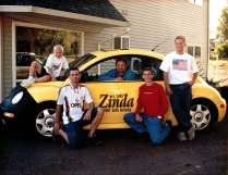 The Zinda & Sons family