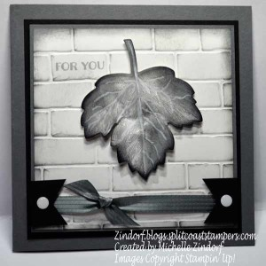 Leaf in Gray