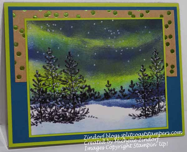 Northern Lights Winter