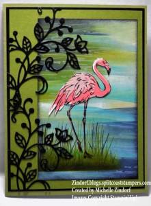 Flourished Flamingo