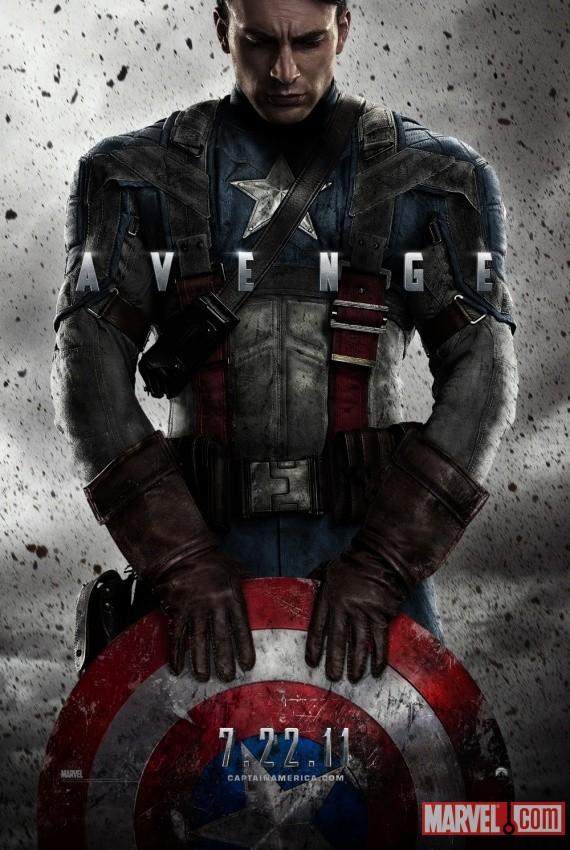 capitan-america poster