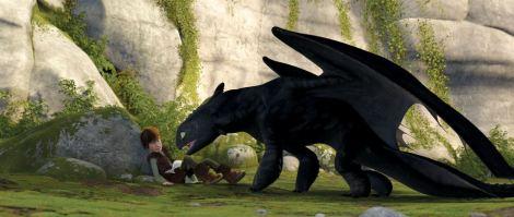 furia nocturna desdentado - como entregar a tu dragon