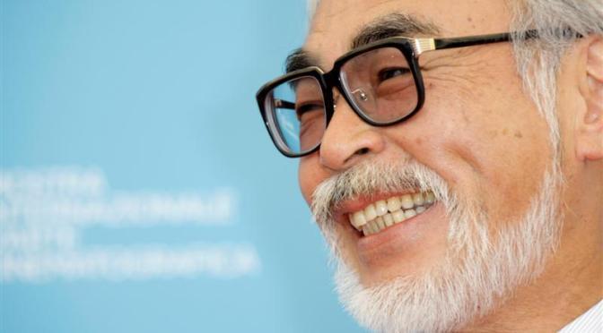 Tributo pixelado a Hayao Miyazaki