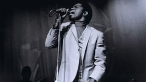 James Brown en uno de sus conciertos