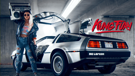 Kung Fury - DeLorean