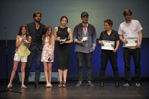 Foto clausura con premiados