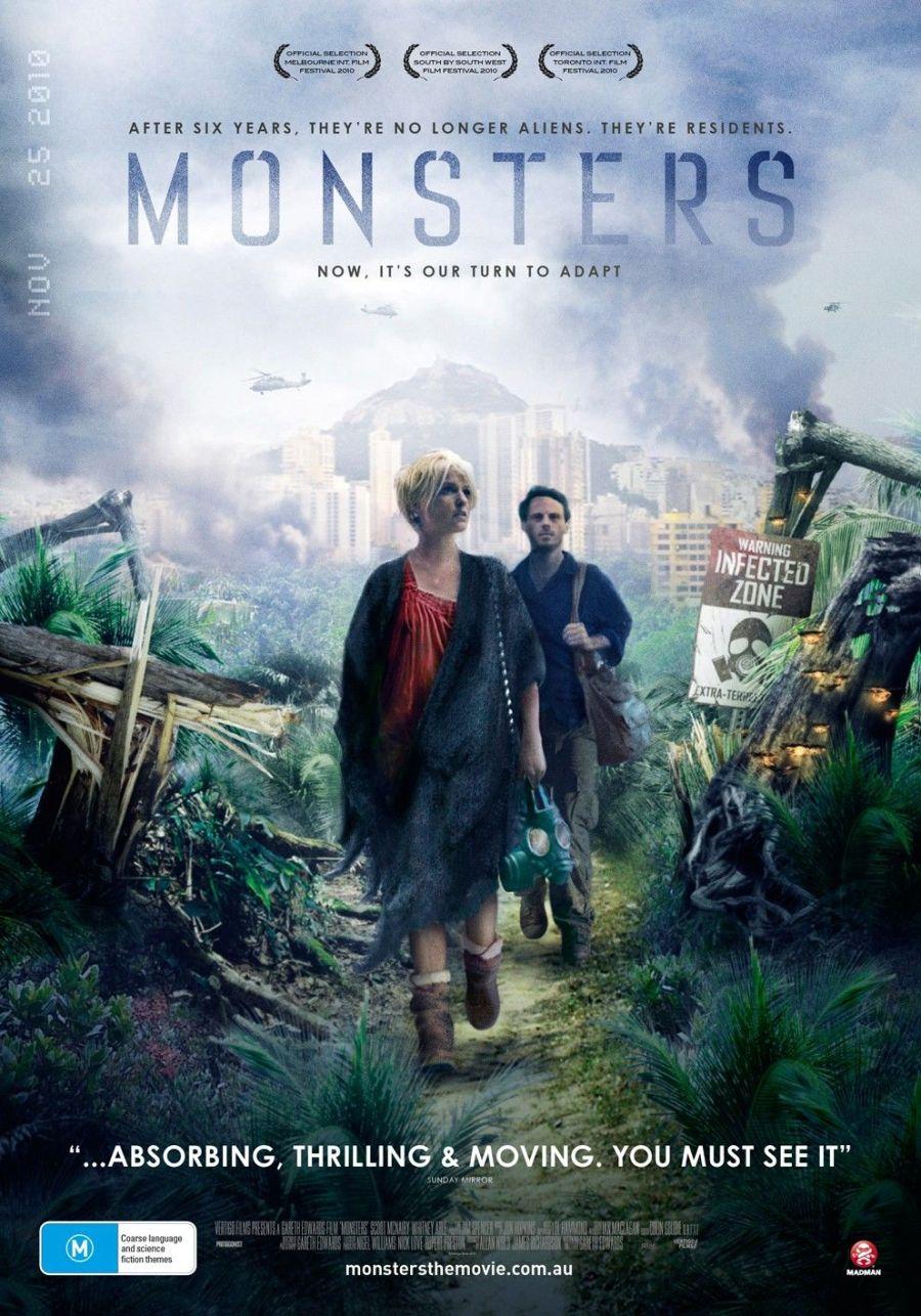monstruos - poster