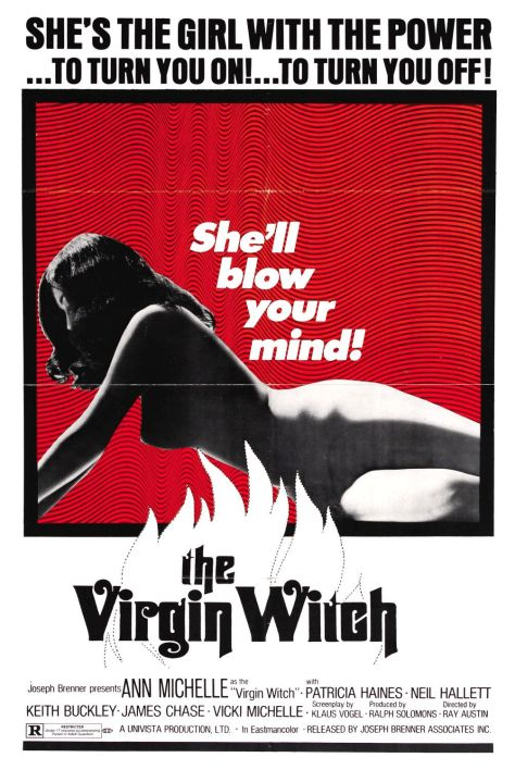 Virgin Witch - poster