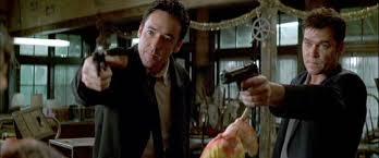 No, no es una escena eliminada de Reservoir Dogs.