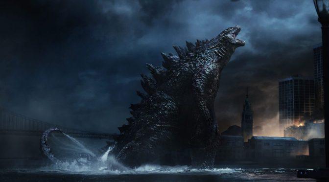 Godzilla (2014), lagarto grande, ande o no ande