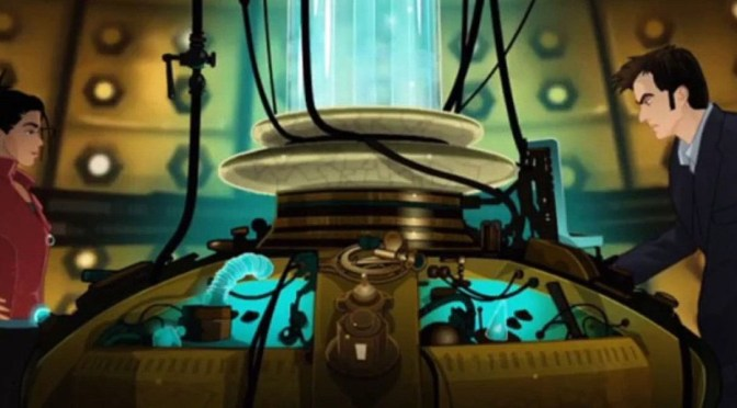 Doctor Who: The Infinite Quest (2007), ba-ba-boom