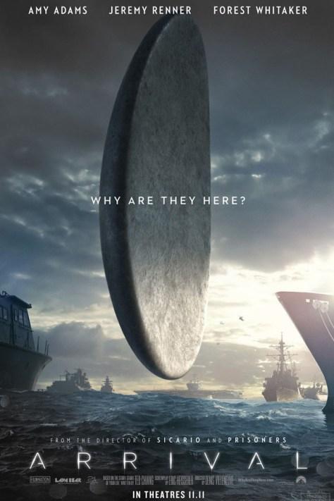 La llegada -poster