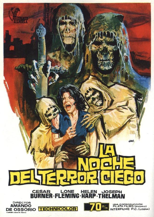 La noche del terror ciego - poster