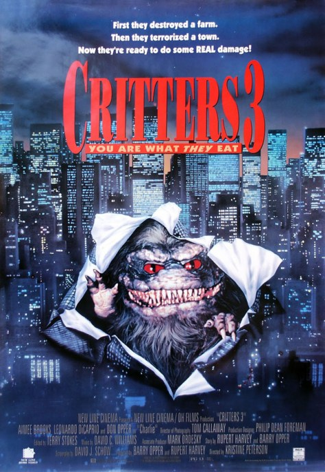 Critters 3 - poster