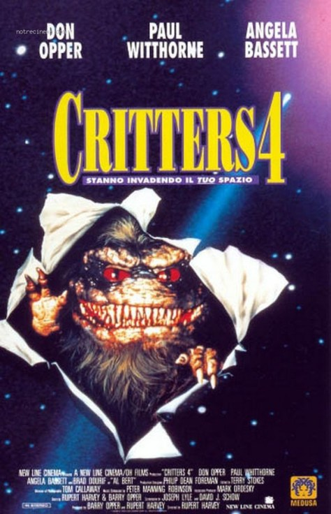 Critters 4 - poster