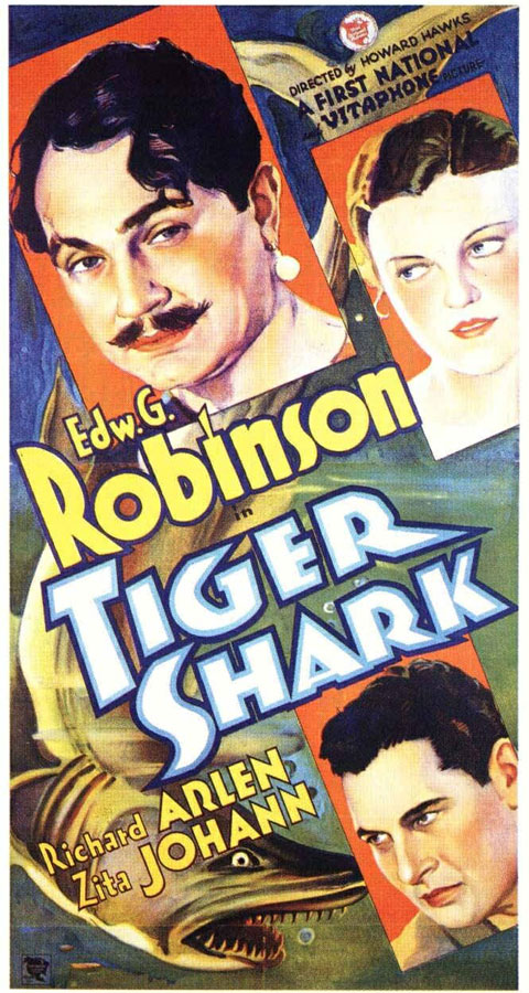 Pasto de tiburones - poster