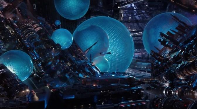 Valerian y la ciudad de los mil planetas (2017), y Laureline, que también sale mucho