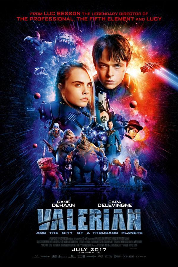 Valerian y la ciudad de los mil planetas - poster