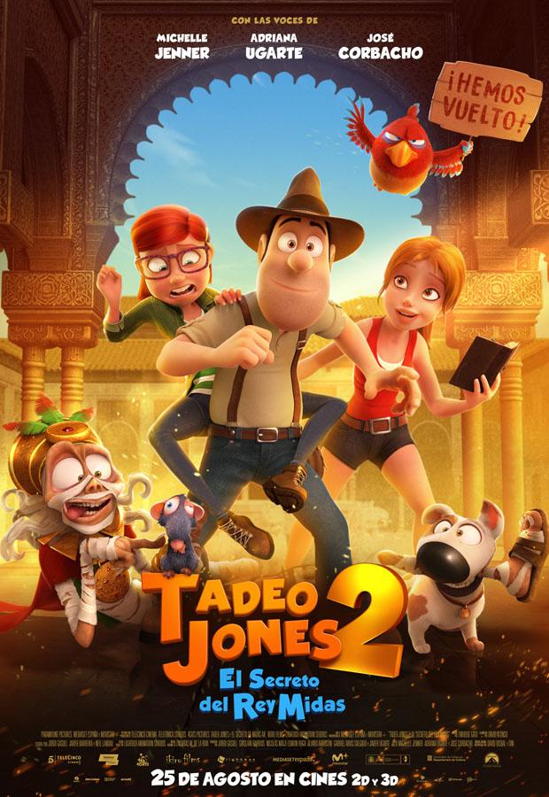 Tadeo Jones 2 - poster