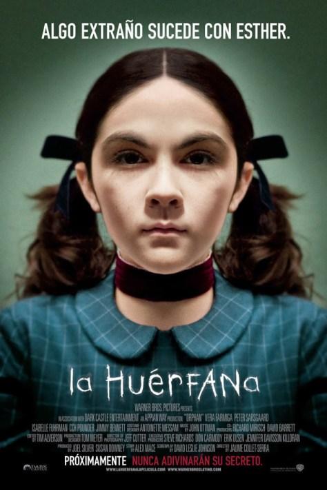 La huérfana - poster