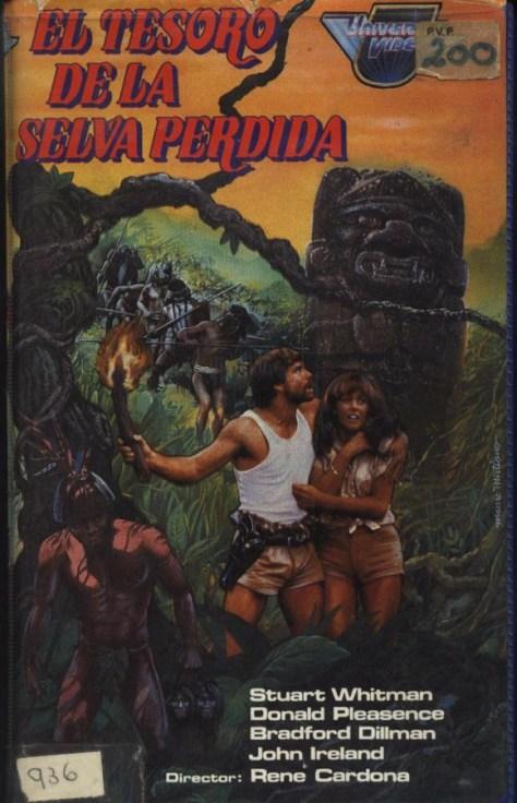 El tesoro de la selva perdida - poster