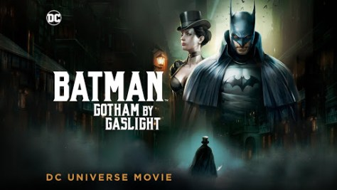 Cartel de Batman: Gotham a luz de gas