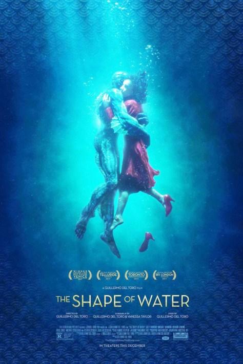 La forma del agua - poster