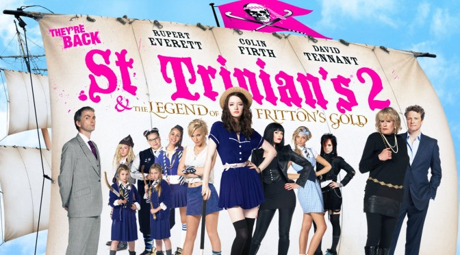St Trinian's 2: The Legend of Fritton's Gold (2009), aún más supercañeras