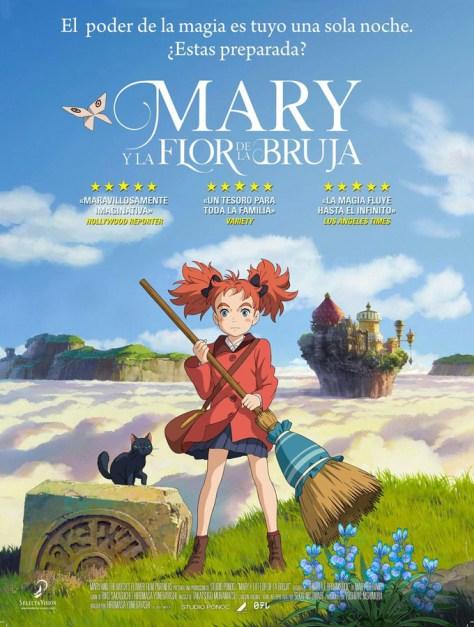 Mary y la flor de la bruja - poster