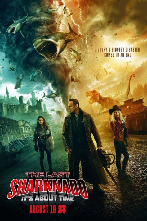 El último Sharknado - poster