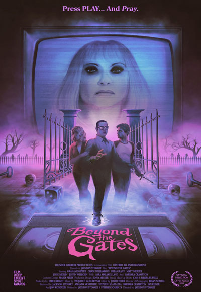 Beyond the gates - poster