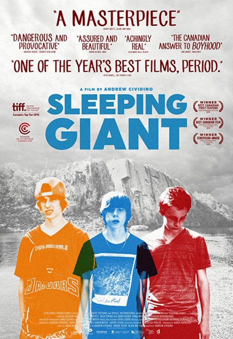 Sleeping giant - poster