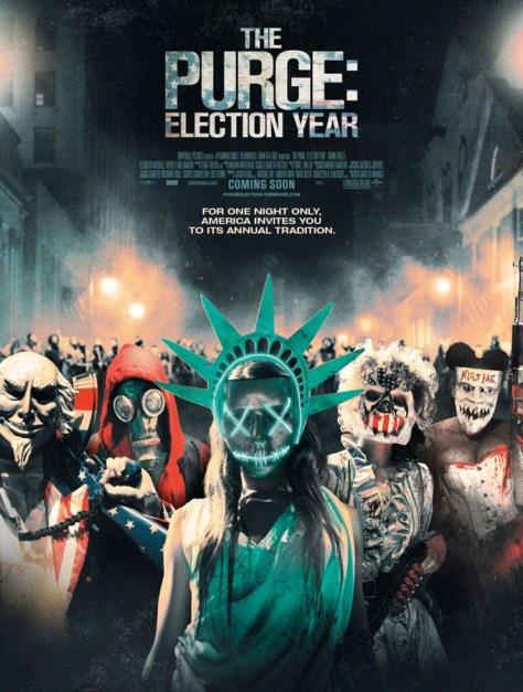 Election: La noche de las bestias - poster