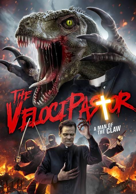 Cartel de la película The Velocipastor, de 2019