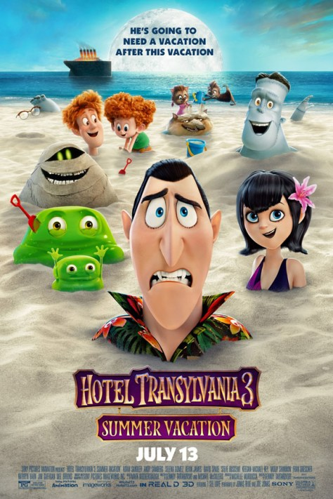 Hotel Transilvania 3 - poster
