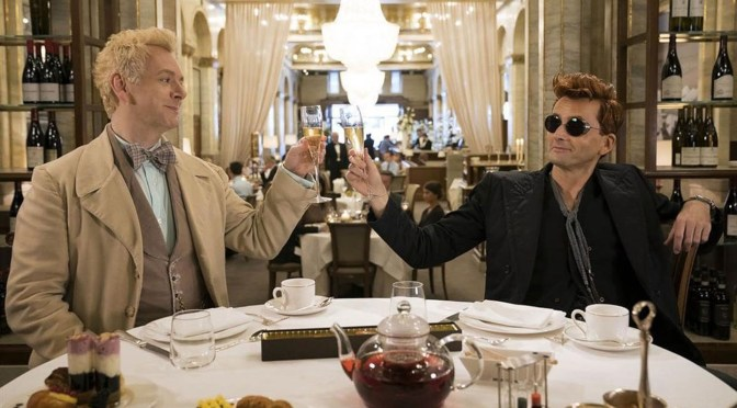 Good Omens -miniserie TV- (2019), excelente
