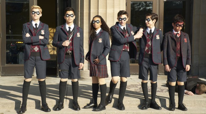 The Umbrella Academy (Serie de TV) (2019), extra-ordinaria